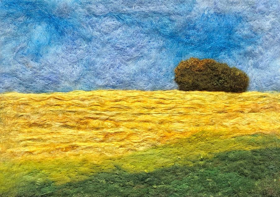 Yellow Field by Ushma Sargeant