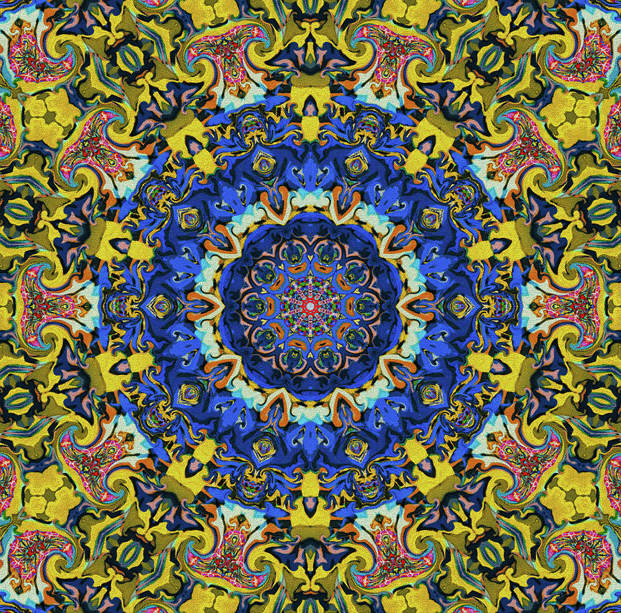 Yellow Mandala by Natalie Holland