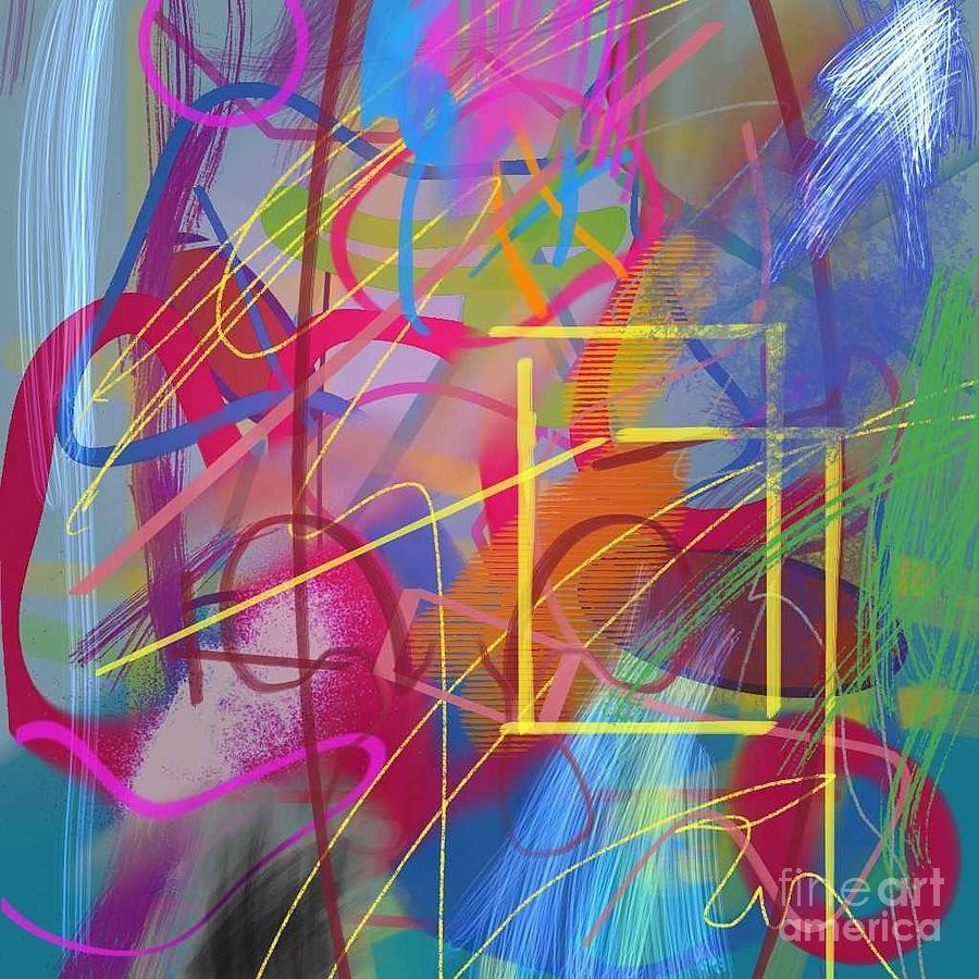 Yellow Rectangle by Joe Roache