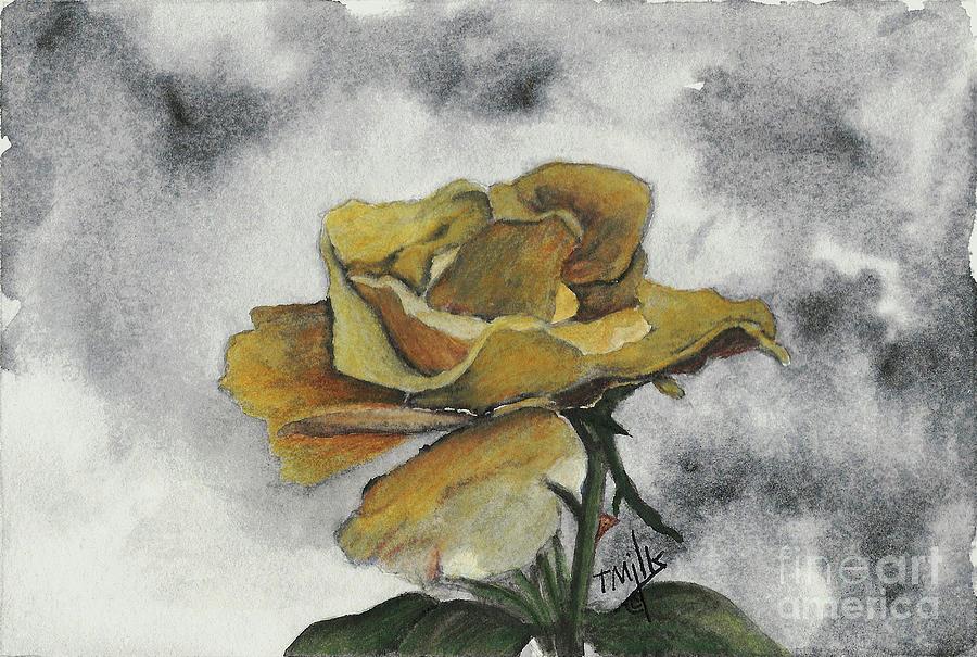 Yellow Rose by Terri Mills