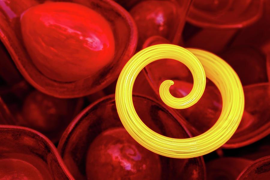 Yellow Spiral by Ann Skelton