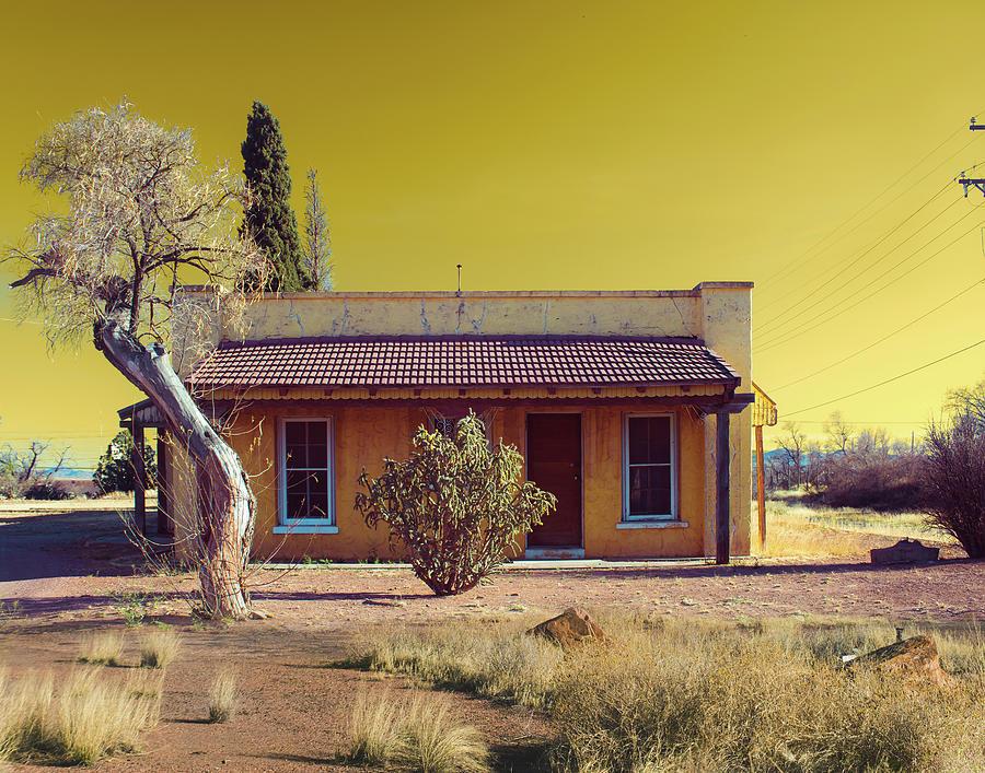 Yellow Van Horn House by Sonja Quintero