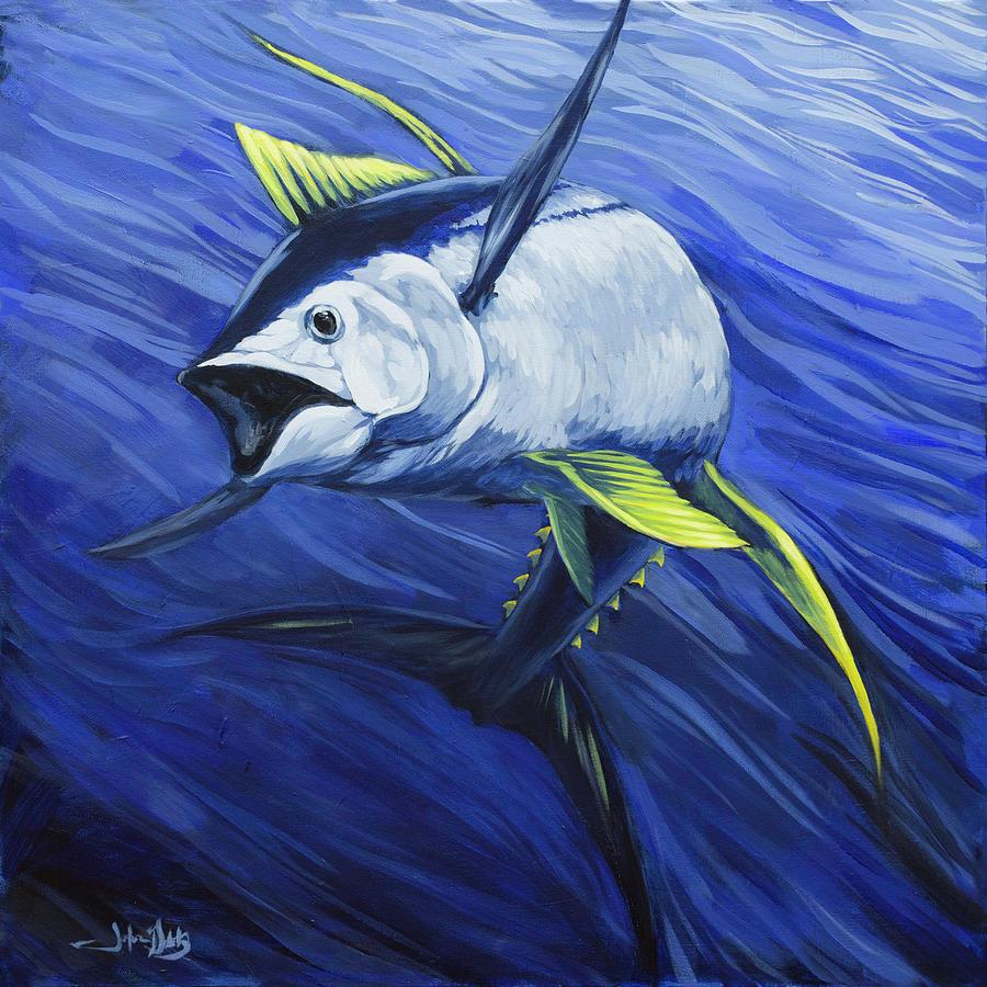 Yellowfin Tuna by John Gibbs