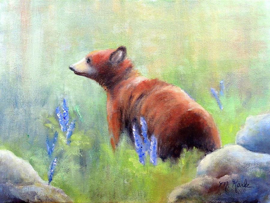 Yellowstone Black Bear by Marsha Karle