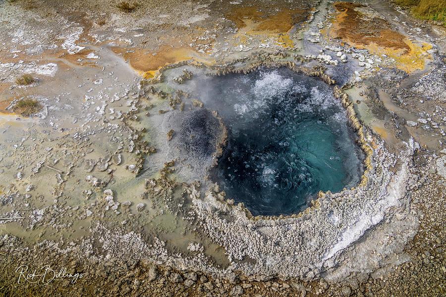 Yellowstone Geyser 3 by Rick Billings