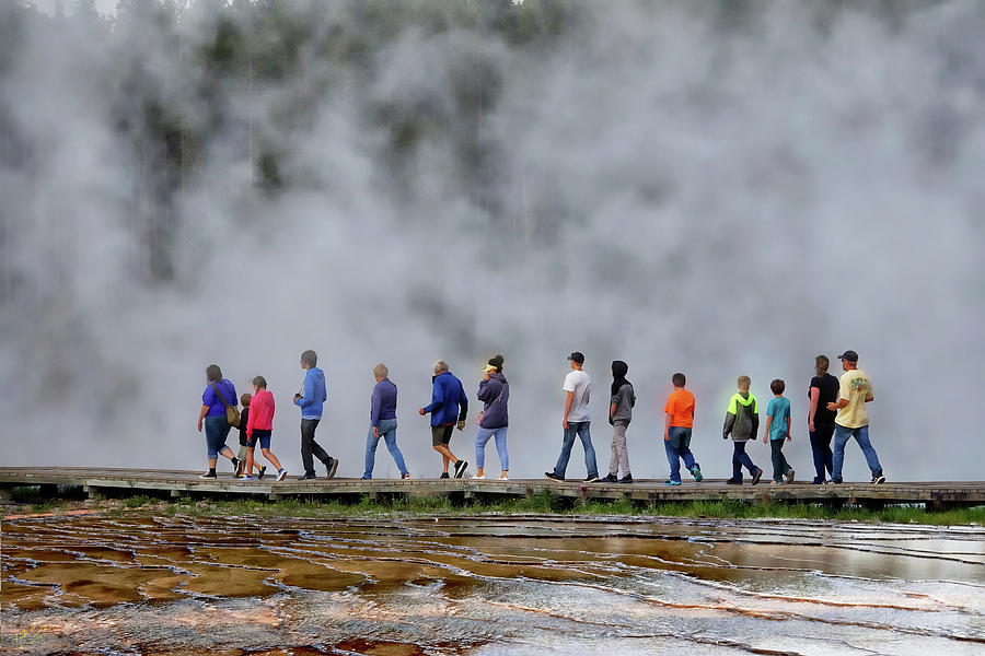 Yellowstone Lineup by Rick Lawler