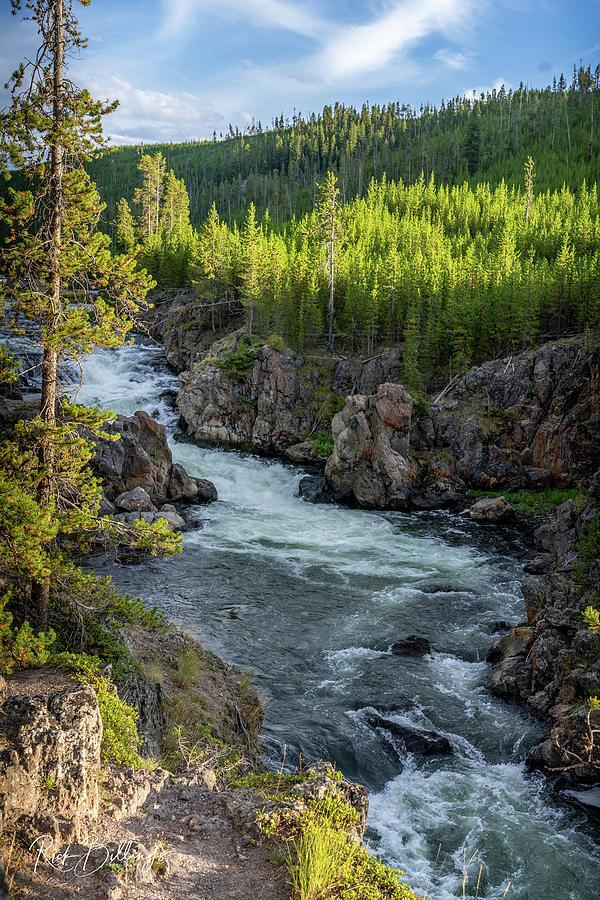 Yellowstone River 4 by Rick Billings