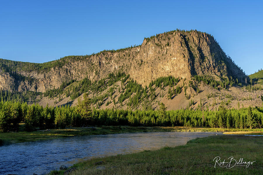 Yellowstone River Ridge No 1078 by Rick Billings