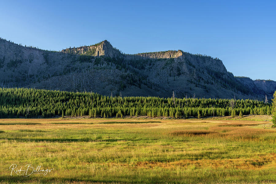 Yellowstone Sunrise No 1085 by Rick Billings