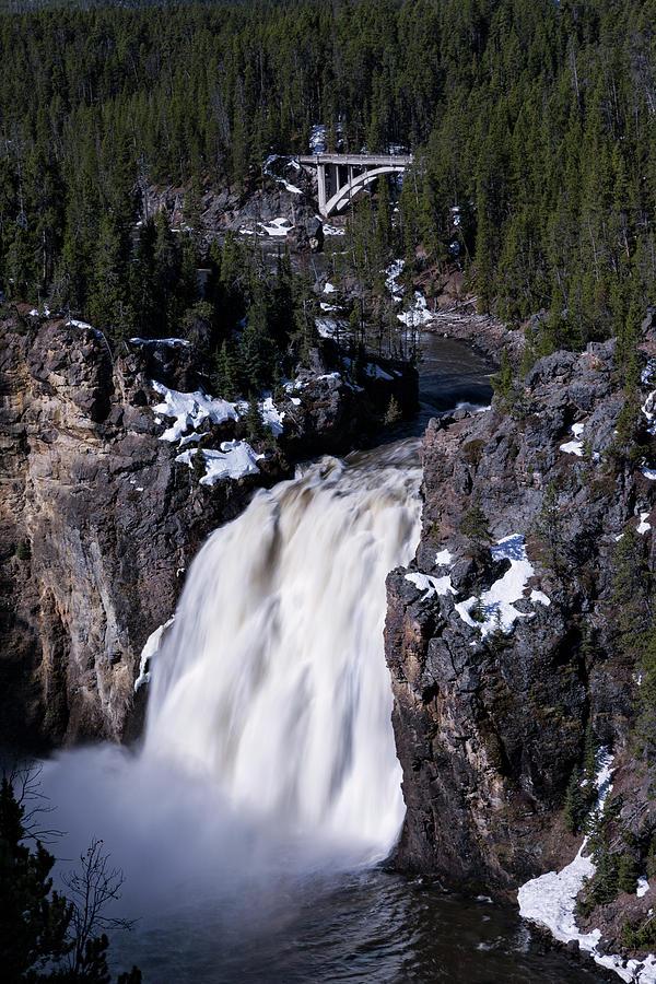 Yellowstone Upper Falls 2 by Rick Pisio