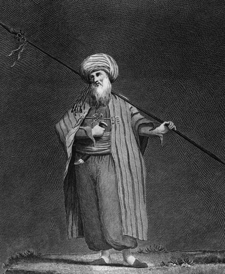 Yemeni Arab Digital Art by Hulton Archive