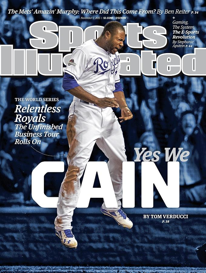 Yes We Cain 2015 World Series Preview Issue Sports Illustrated Cover Photograph by Sports Illustrated