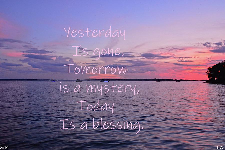 Yesterday Tomorrow Today by Lisa Wooten