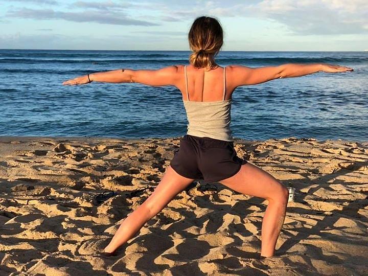 Yoga Pose by Marlene Challis