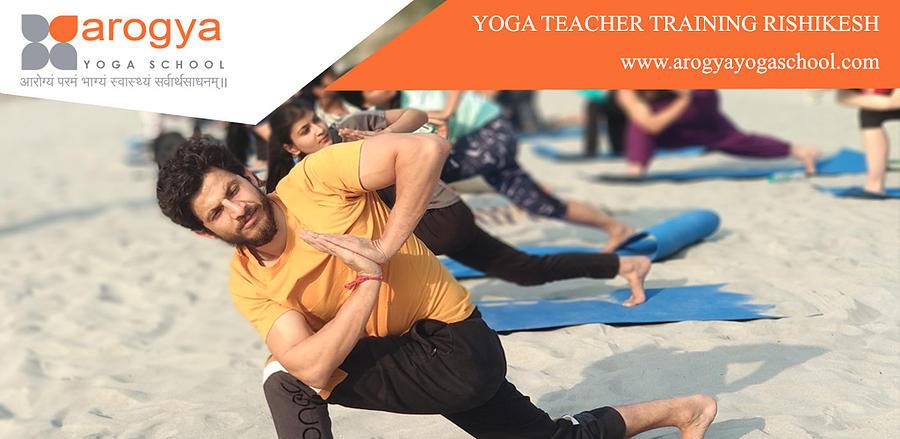 Yoga Teacher Training In Rishikesh Digital Art By Rajneesh Bhatt