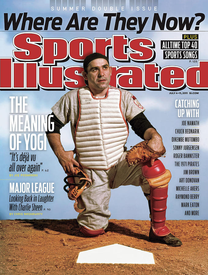 Yogi Berra, Where Are They Now Sports Illustrated Cover Photograph by Sports Illustrated