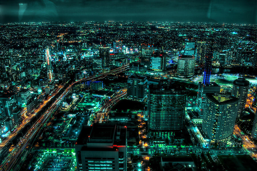 Yokohama Photograph by Copyright Artem Vorobiev