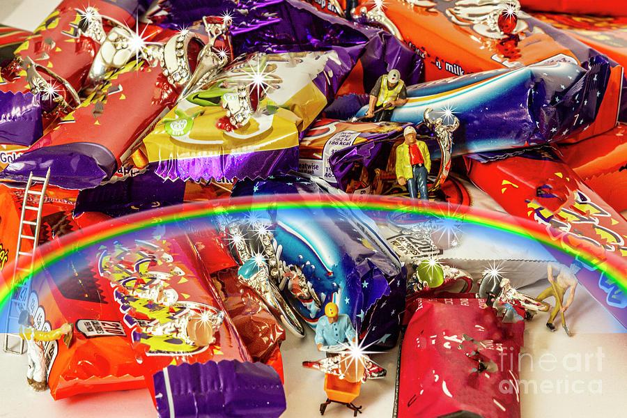 Yorkshire Chocolate Production Team Photograph