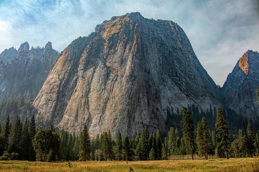 Yosemite Cathedral Peaks by Kristia Adams
