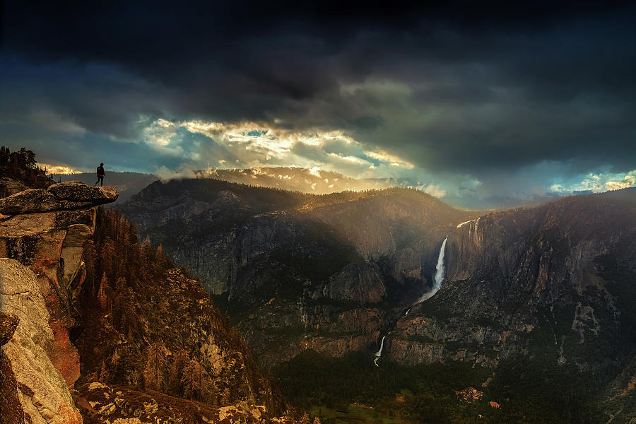 Yosemite Clearing Storm by Andrew Soundarajan