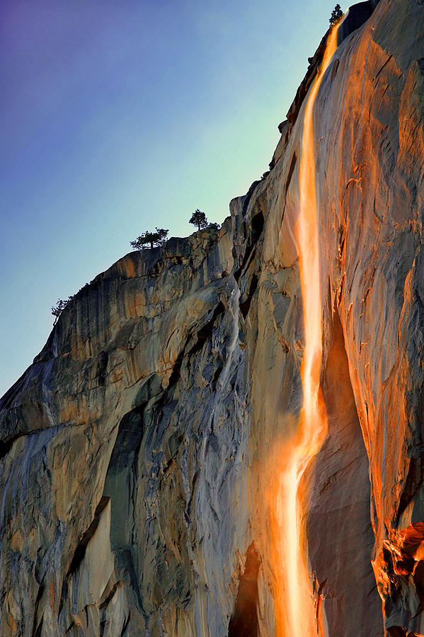 Yosemite Firefall Photograph by Provided By Jp2pix.com
