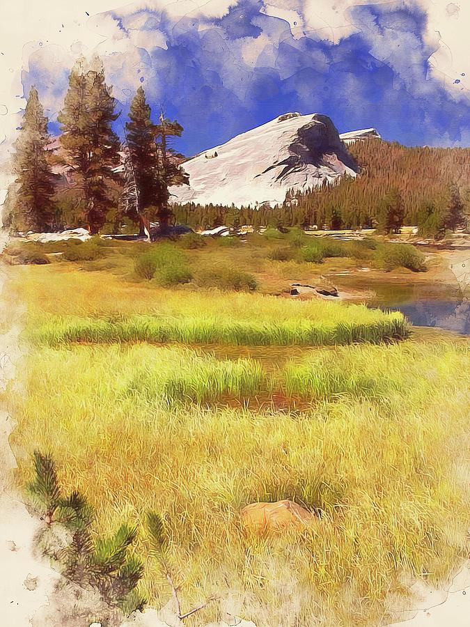 Yosemite National Park - 03 Painting