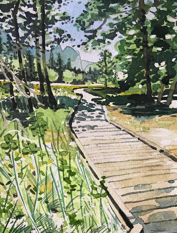Yosemite Path Painting