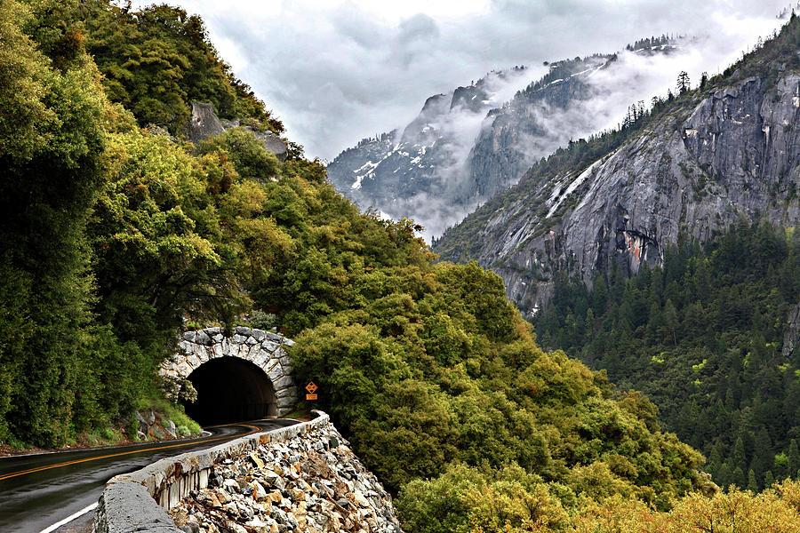 Yosemite Tunnel Photograph by Jill Buschlen
