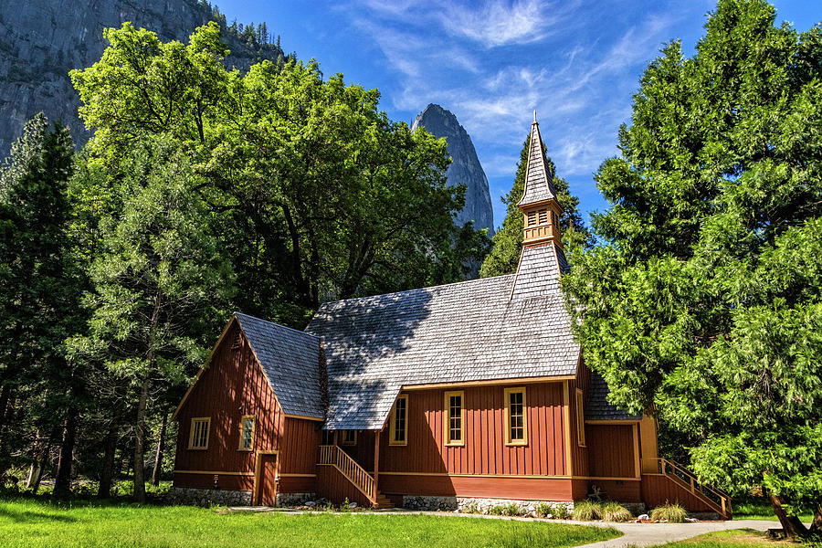 Yosemite Valley Chapel by Carolyn Derstine