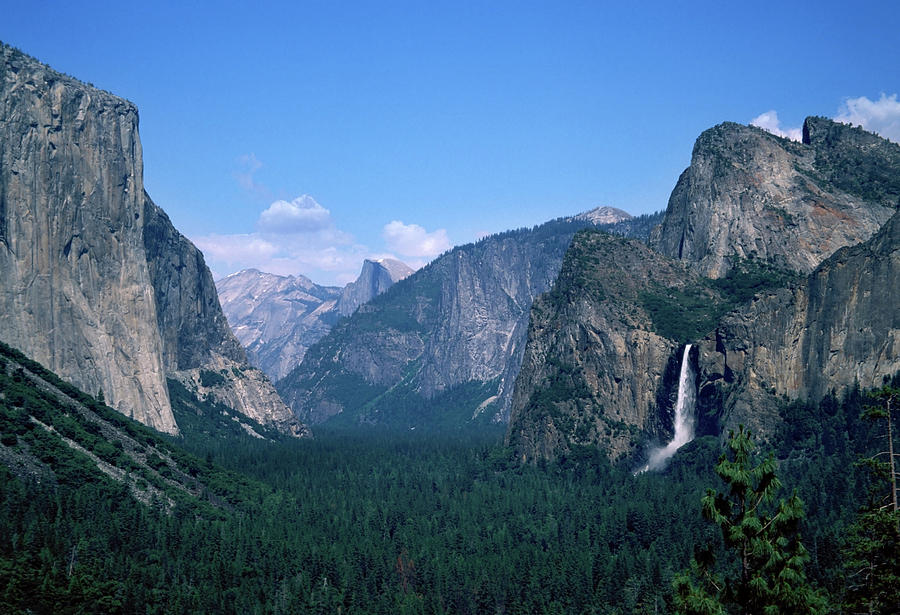 Yosemite Valley From Tunnel View Photograph by Yenwen