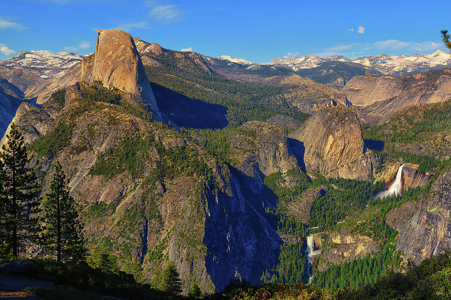 Yosemite Washburn Point Overlook by Greg Norrell