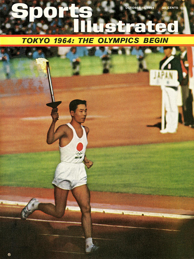 Yoshinori Sakai, 1964 Summer Olympics Sports Illustrated Cover Photograph by Sports Illustrated