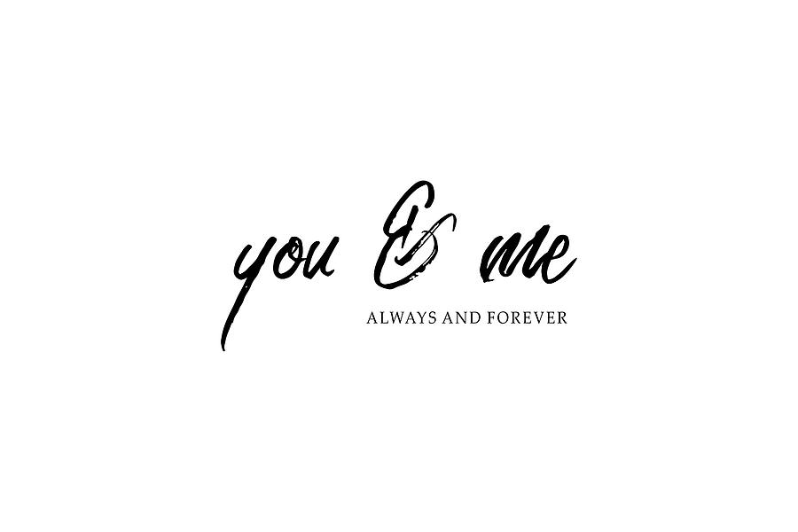You and Me 2 #minimalism by Andrea Anderegg