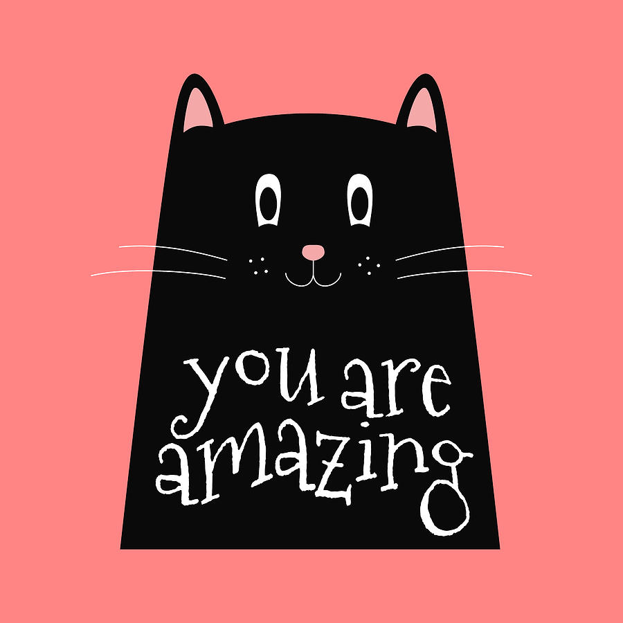 You Are Amazing - Baby Room Nursery Art Poster Print by Dadada Shop