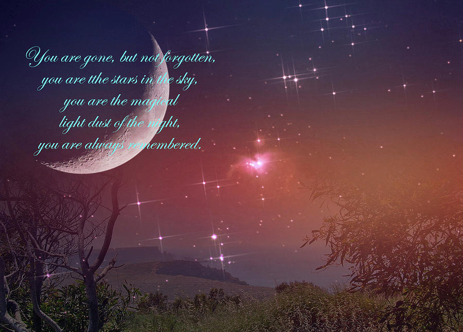 You Are The Stars In The Sky And Always Remembered by Johanna Hurmerinta