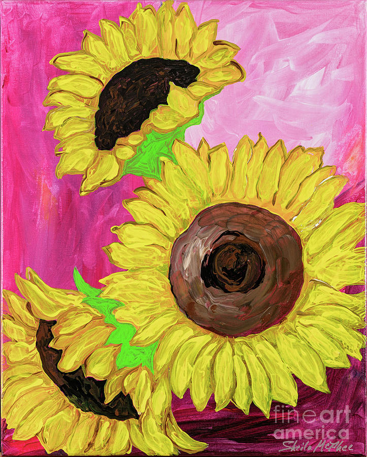 You Are The Sunflower of My Life by Sheila McPhee