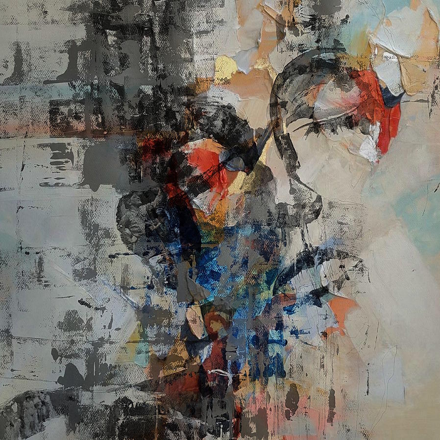 Women Mixed Media - You Dont Own Me _ Miss Sarajevo by Paul Lovering