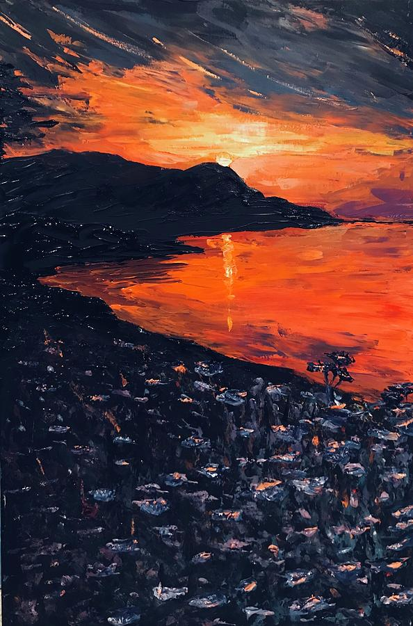 You make the sunset shout for joy by Ovidiu Ervin Gruia
