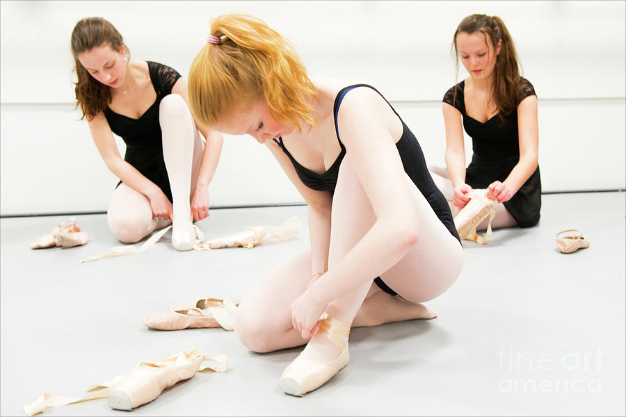 Young Ballet Dancers by Guido Koppes