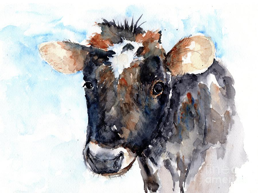 Young Cow by Claudia Hafner