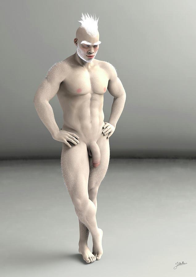 Albino black girls naked