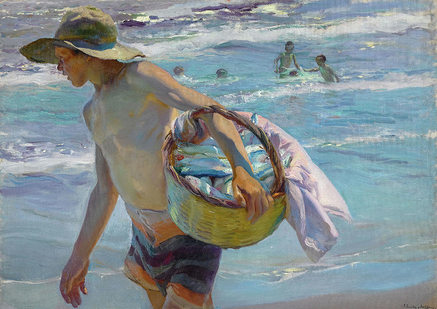 Joaquin Sorolla Painting - Young Fisherman, Valencia, 1904 by Joaquin Sorolla