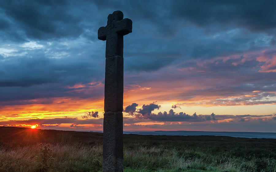 Britain Photograph - Young Ralph Cross, North York Moors by David Ross