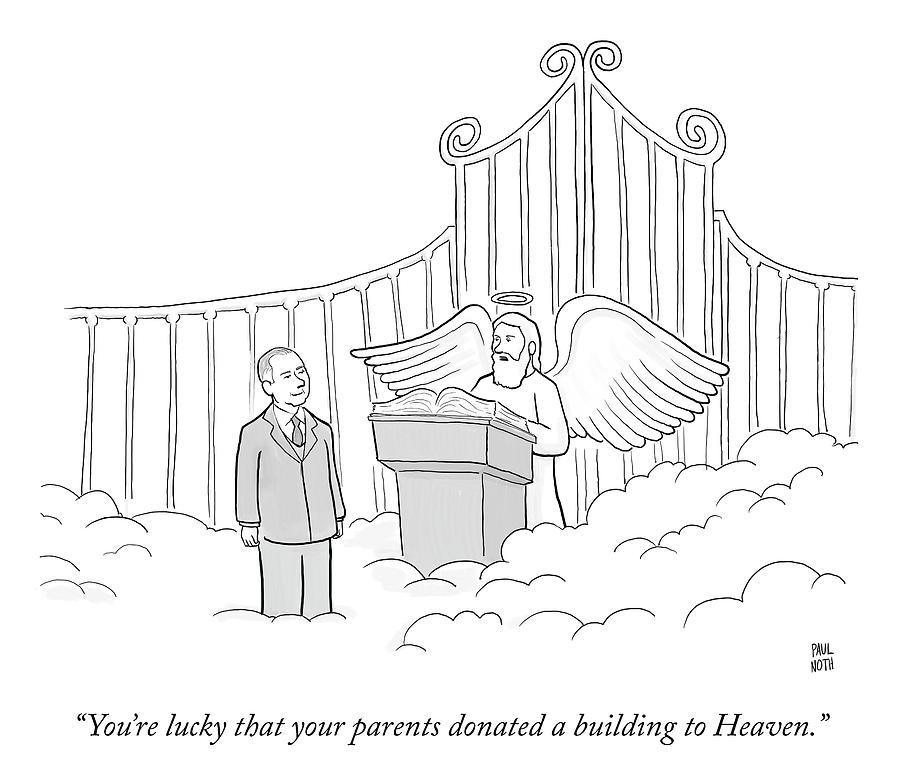 Your Parents Donated Drawing by Paul Noth