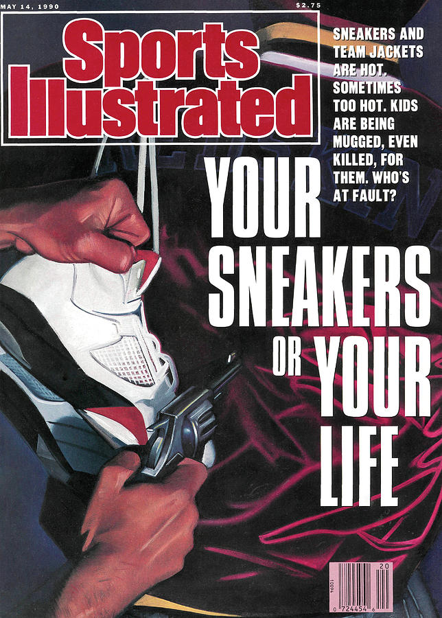 Your Sneakers Or Your Life Sneakers And Team Jackets Are Sports Illustrated Cover Photograph by Sports Illustrated
