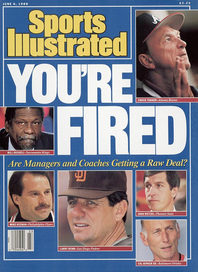 Youre Fired Are Managers And Coaches Getting A Raw Deal Sports Illustrated Cover Photograph by Sports Illustrated
