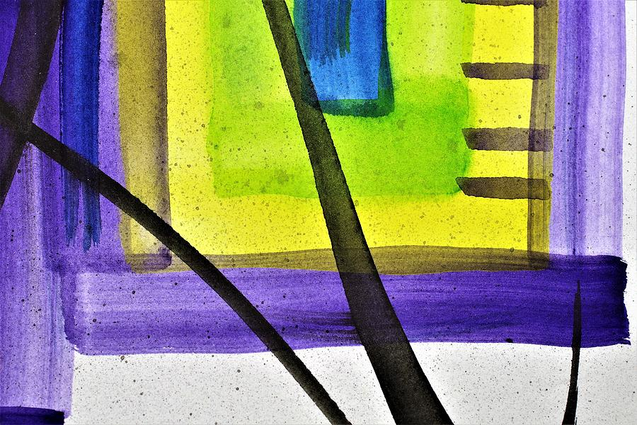 Bright Colors Painting - YPB by Stuart Peterman