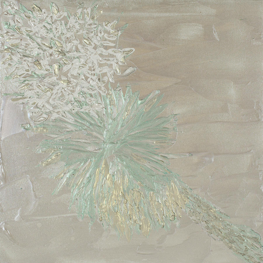 Yucca White on White by Julene Franki