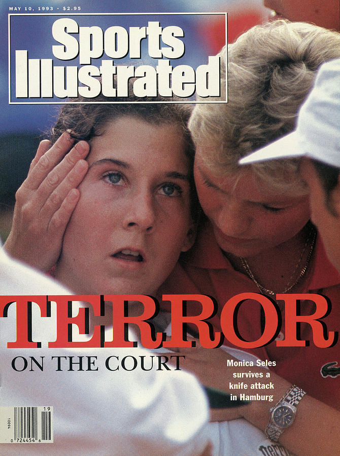 Yugoslavia Monica Seles, 1993 Citizen Cup Sports Illustrated Cover Photograph by Sports Illustrated