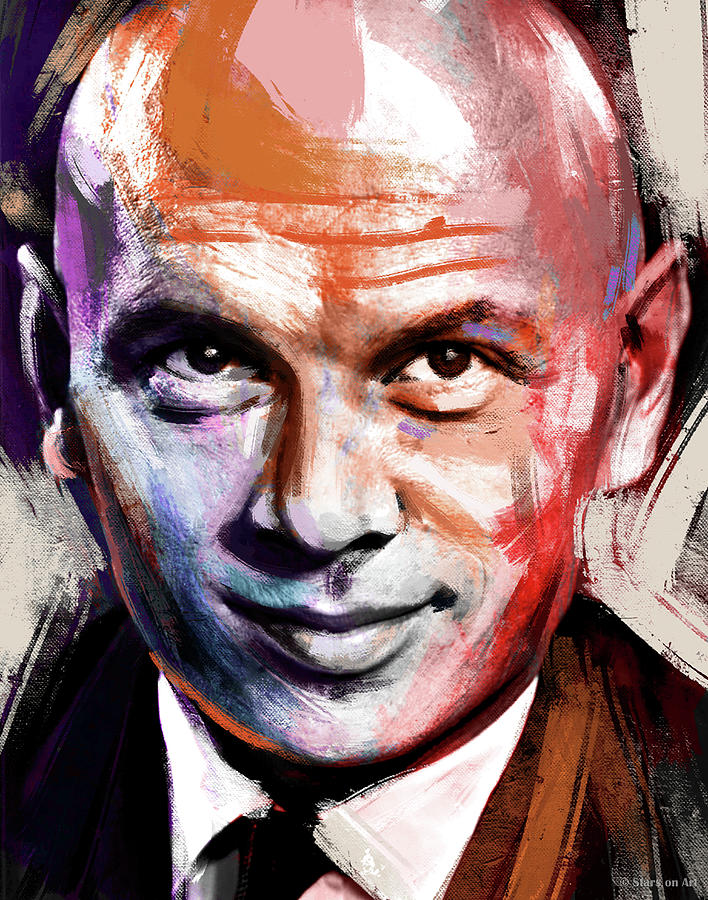 Yul Brynner Painting